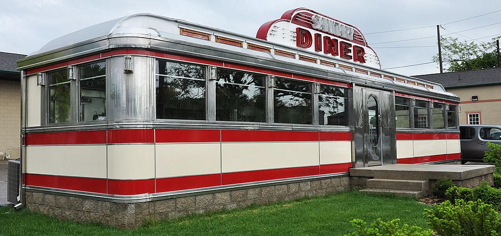 American diner diversified diners diners for sale for 50 s diner exterior