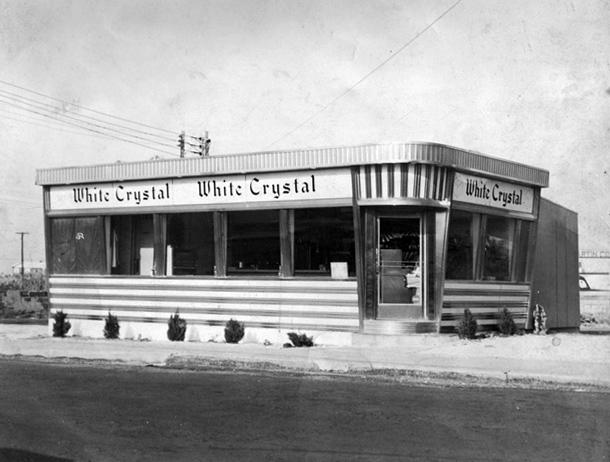 The White Crystal as it appeared soon after installation in the late 1950s.
